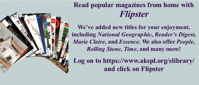 Flipster: Read popular magazines from home