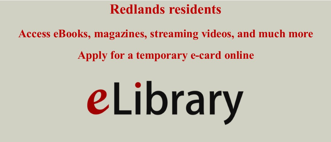 Temporary eLibrary Cards