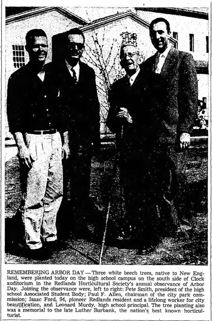 Arbor Day-RHS_RDF, 03-07-1957