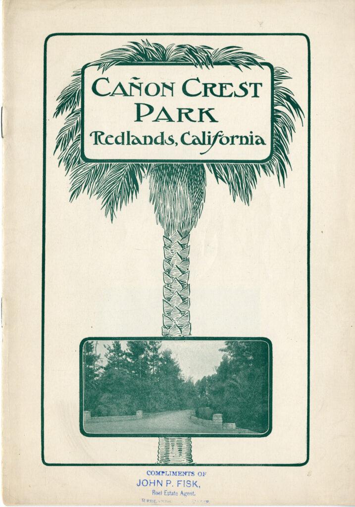 Canon Crest Park Booklet, c1900
