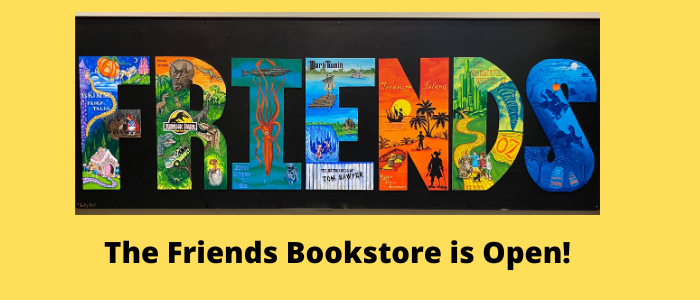 Visit the Friends Bookstore