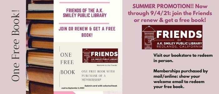 Visit the Friends Bookstore