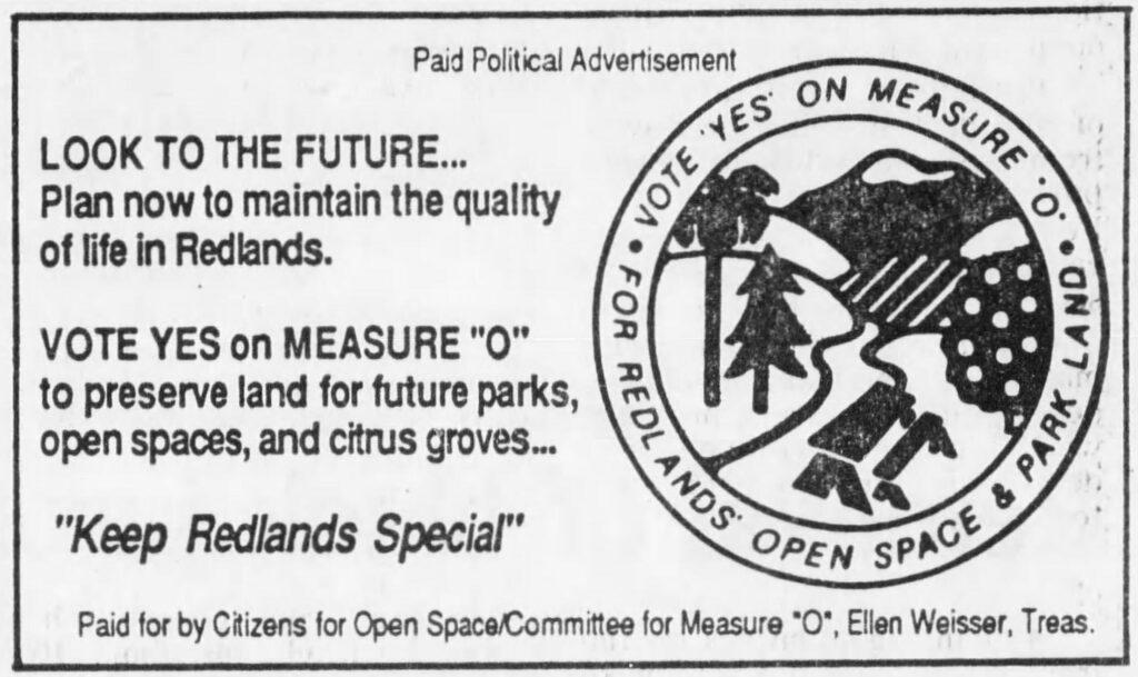 Measure O_SB Sun, 10-02-1987_Political Ad