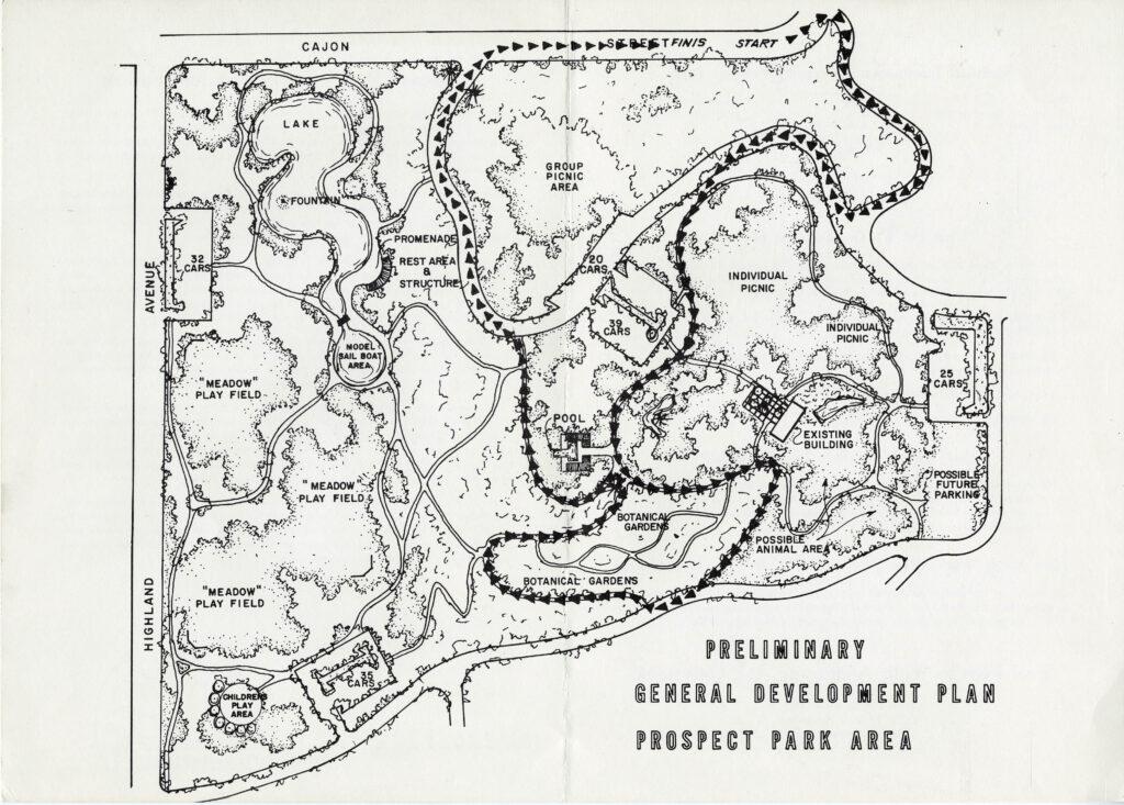 Prospect Park, c1967_Map