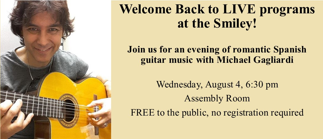 LIVE Spanish guitar music with Michael Gagliardi