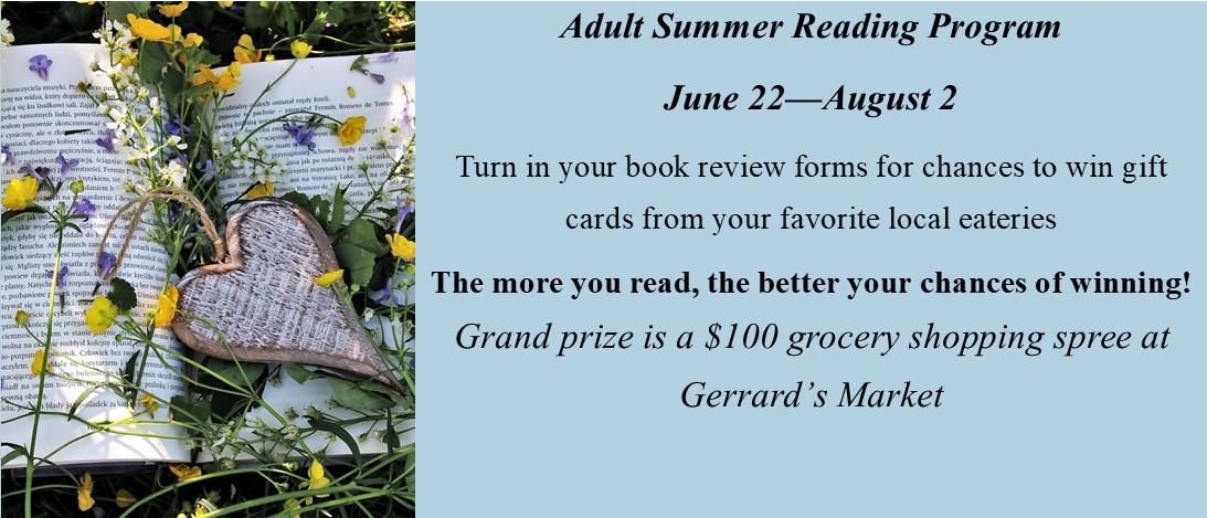 2021 Adult Summer Reading Program