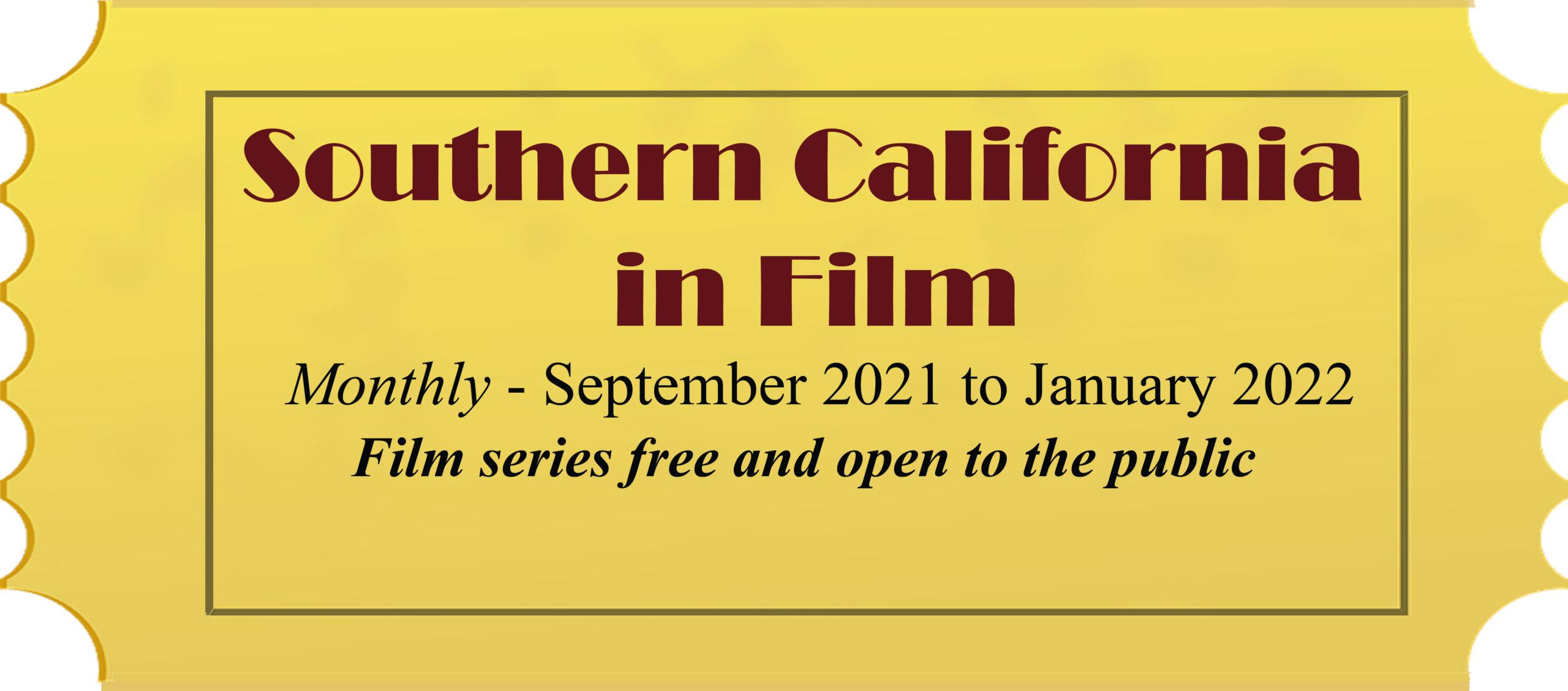 Film Series Returns!